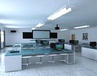 中学生物数字化实验室设备安装